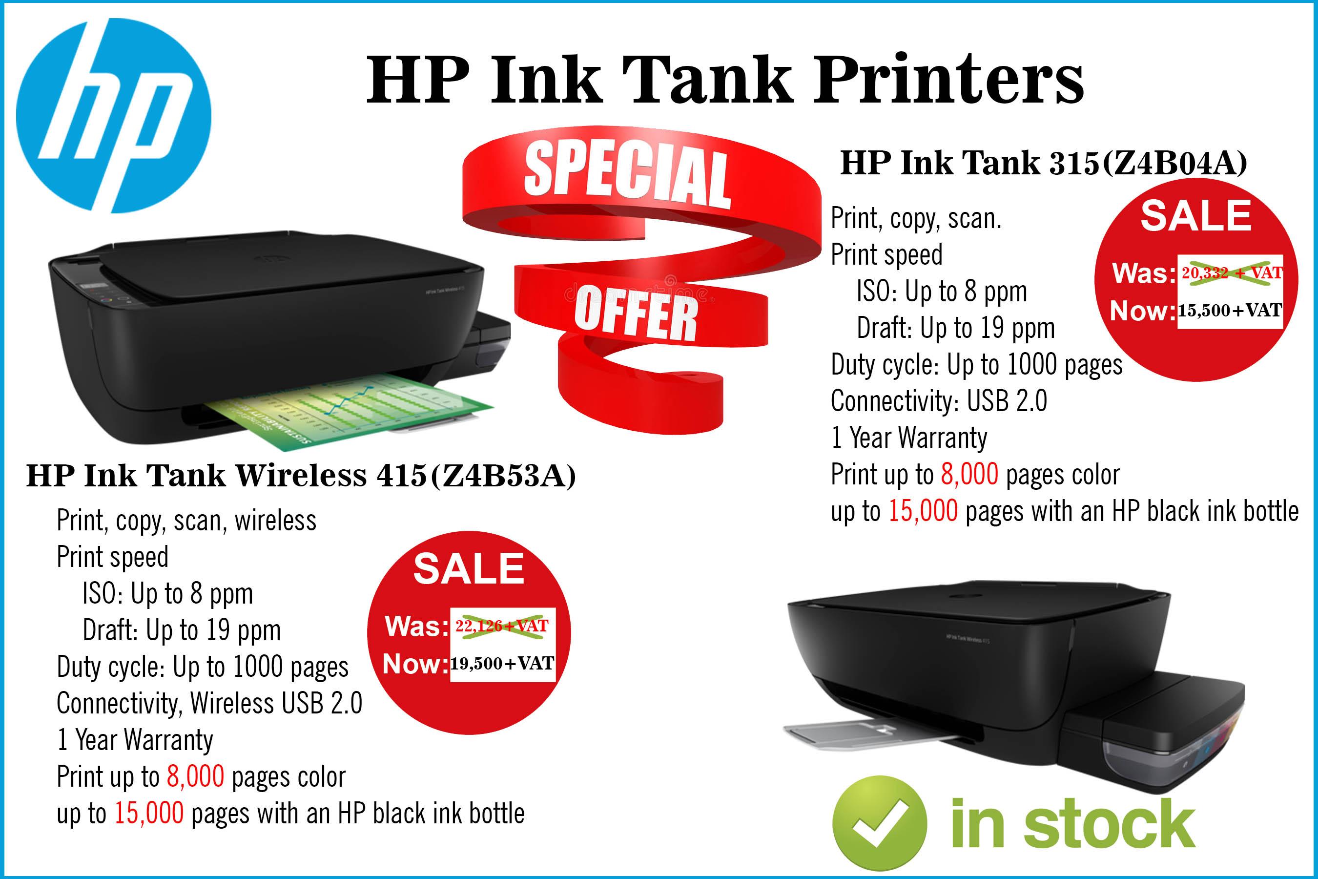 Hp Ink Tank Wireless 415 Z4b53a Intellitech Limited
