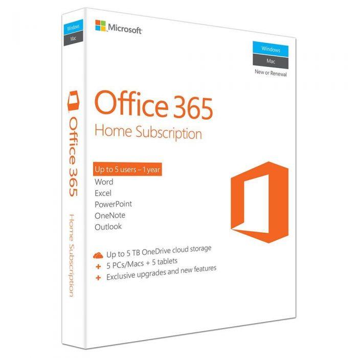Microsoft Office 365 Home (6GQ-00686)
