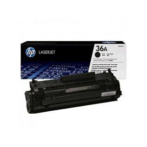 HP HP 36A Black Laser Jet Toner Cartridge