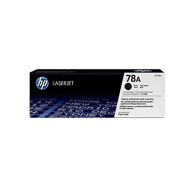 HP HP 78A (CE278A) - LaserJet Toner Cartridge - Black