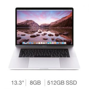 "Apple MacBook Pro with Touch Bar 15.4"" - Core I7"