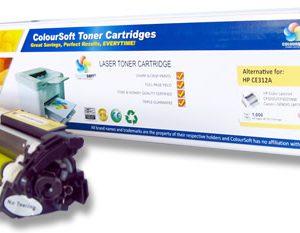 HP 126A Toner Yellow (CS-CE312A) ColourSoft Compatible