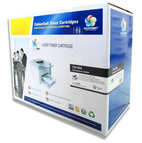 HP 90A Toner Cartridge (CE390A) ColourSoft Compatible