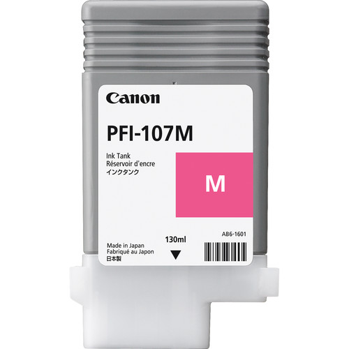 Canon PFI-107M Magenta Ink Cartridge