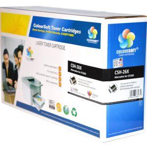 HP 26X Super Capacity Toner (CS-CF226X) ColourSoft Compatible