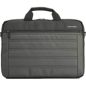 """Kingsons 15.6"""" Black shoulder bag Black"""