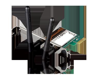 D-Link Wireless N 300 PCIe Desktop Adapter DWA-548