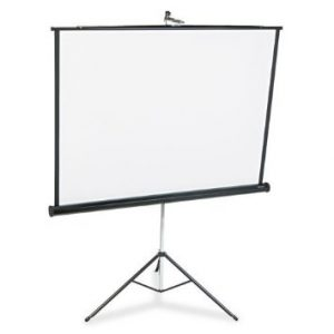 PROJECTOR SCREEN 60X60 TRIPOD