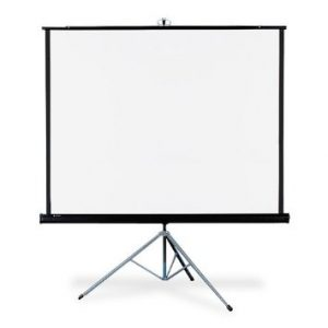 PROJECTOR SCREEN 70X70 TRIPOD
