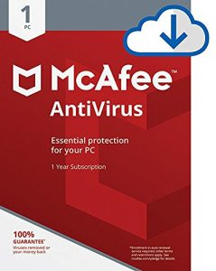 McAfee AntiVirus Protection|Internet Security