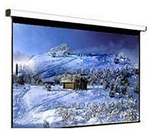 "PROJECTOR ELECTRONIC SCREEN 4:3 GB WITH R002 REMOTE (TUBER MOTOR) 150"" OLEY"