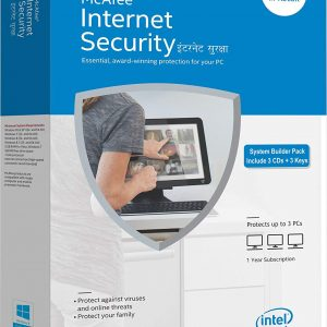 McAfee Internet Security - 3 Users, 1 Year (CD)