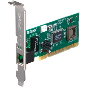 D-Link 10‑100Mbps PCI Card for PC DFE‑530TX