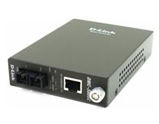D-Link 10/100BASE-TX Twisted Pair to 100BASE-FX Multi-mode fiber (2 km, SC) Media Converter Module