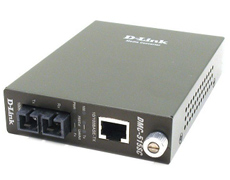 D-Link 10/100BASE-TX Twisted Pair to 100BASE-FX Single-mode fiber (30 km, SC) Media Converter Module