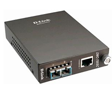 D-Link 1000Base-T UTP to 1000Base-LX SM SC Gigabit Fiber Media Converter (Up to 10km)