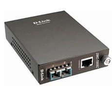 D-Link 1000Base-T UTP to 1000Base-LX SM SC Gigabit Fiber Media Converter (Up to 10km)