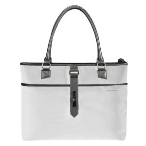 "Kingsons 15.6"" Bella Series Ladies Laptop Shoulder Bag (Grey)"