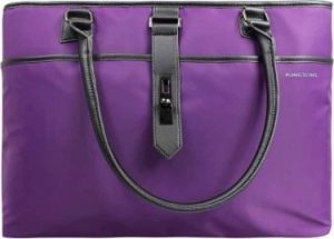 "Kingsons Ladies Shoulder Laptop Bag 15.6"" Grey"