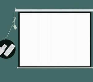Electronic Projector Screen S001-72