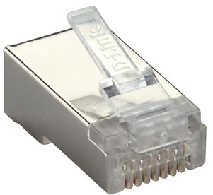 Cat6 UTP Modular Plugs with Engraved D-link Logo (100 Pcs/Bag)