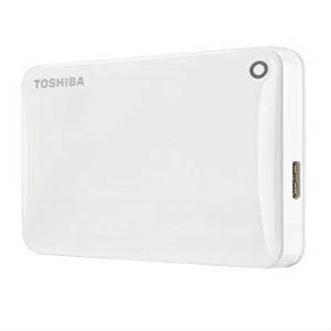 Toshiba Canvio FS 500GB white External Hard Drive