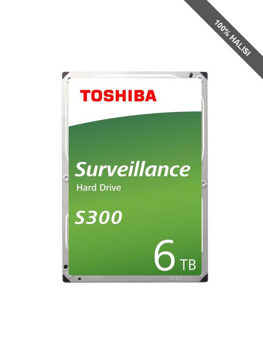 Toshiba S300 6TB Surveillance HDD