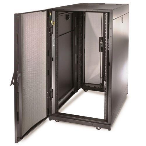 APC NetShelter SX 24U Server Rack Enclosure 600mm x 1070mm w/ Sides Black