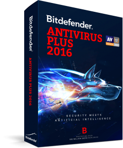 BITDEFENDER ANTIVIRUS 2016 -3 USER