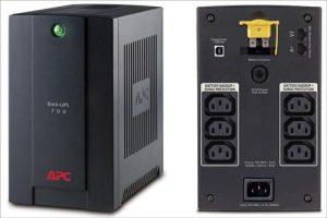 APC Back-UPS 390 W-700 VA 230 V - 4 outputs