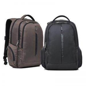 "Kingsons ARROW SERIES 15.6"" LAPTOP BACKPACK - BLACK"