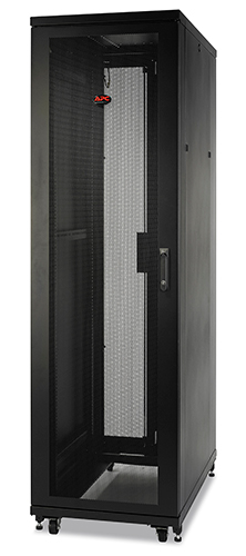 NetShelter SX 42U 800mm Wide x 1070mm Deep Enclosure with Sides Black