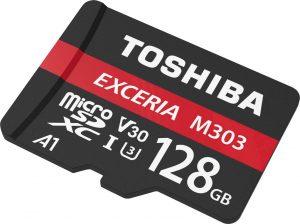 Toshiba 128GB mSD Memory Card