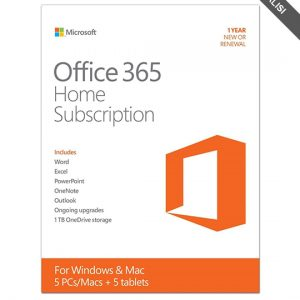 Microsoft 6GQ-00087 Office 365 Home Premium