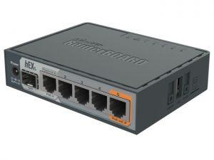MikroTik hEX S 5 Gigabit Port