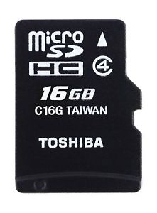 Toshiba High Speed M102 16GB Micro SD Memory Card