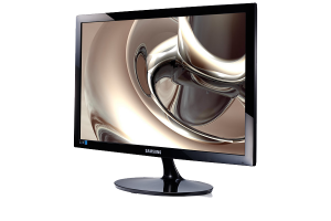 "19"" LED monitor with sharp picture quality"