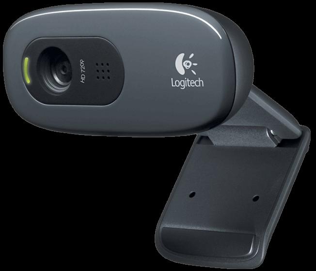 Logitech C270 HD Webcam - Black - Intellitech Limited